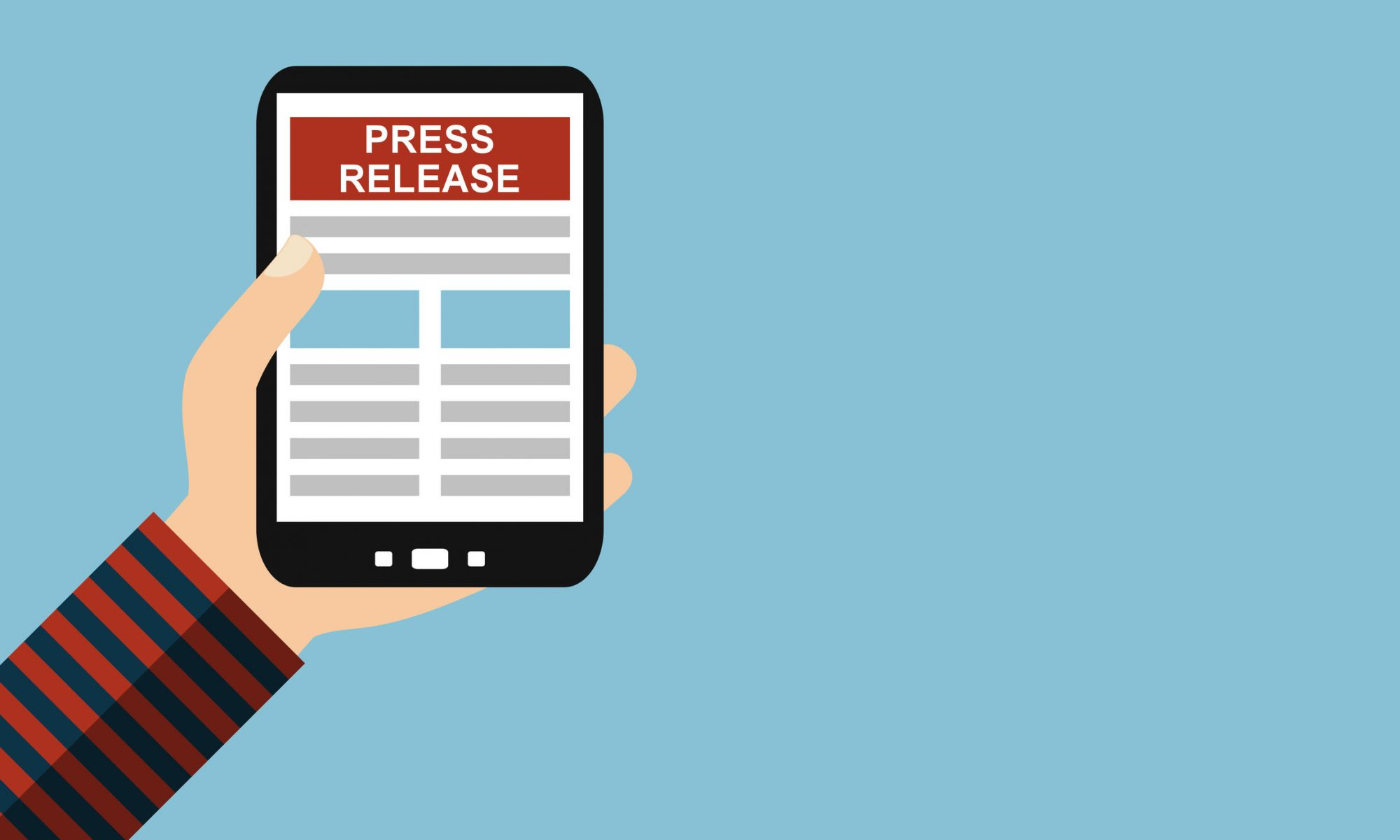 Digital press releases, create a press release