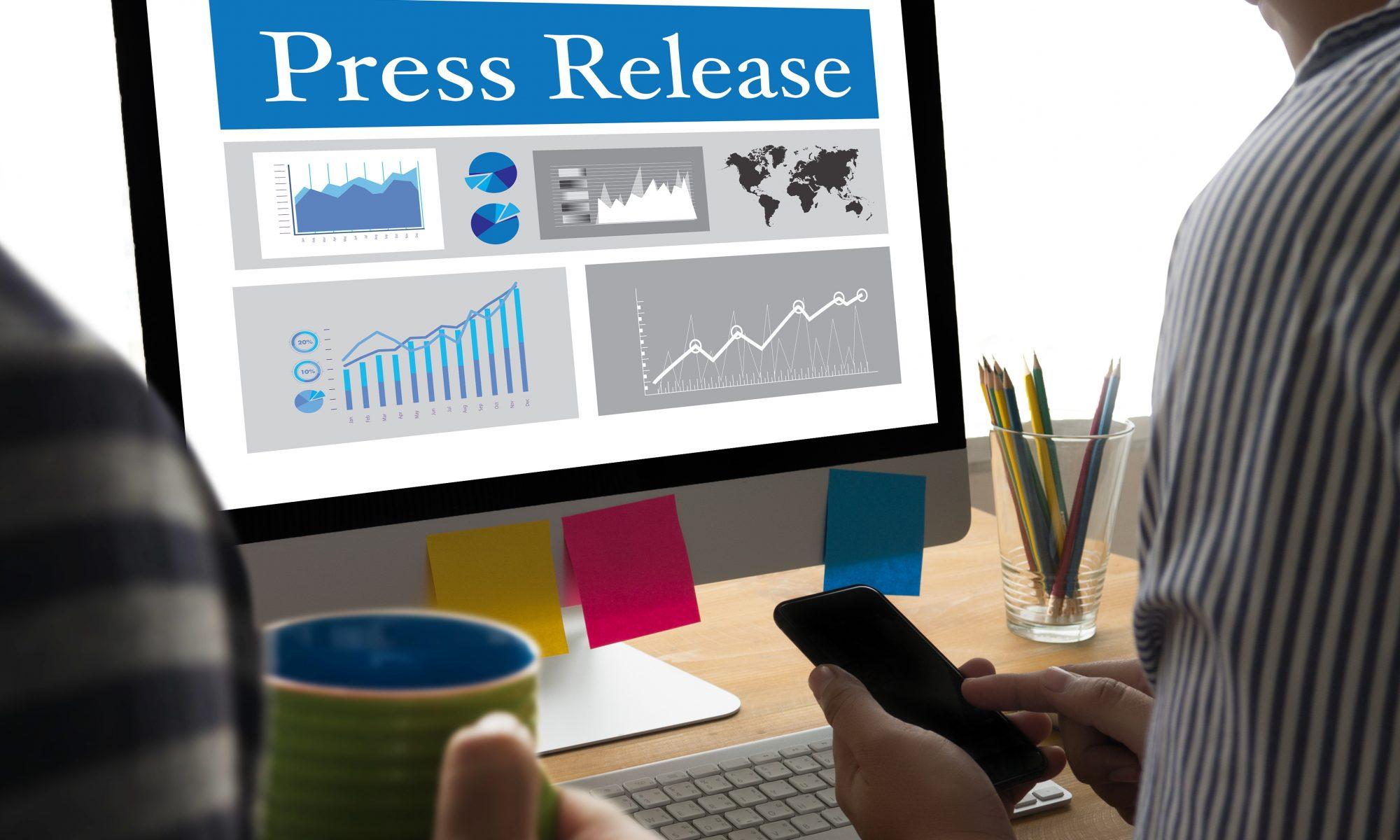 press release distribution, good press release