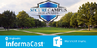 InfromaCast Fusion with Microsoft Teams Wins 2020 Secure Campus Award for mass notification.