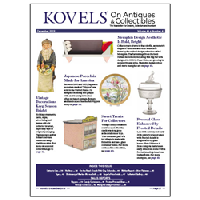 Kovels On Antiques & Collectibles December 2019 Newsletter