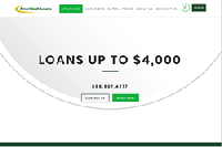 AmeriCash Loans New Website Home Page