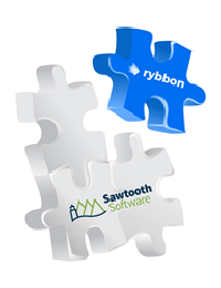 Rybbon Announces Partnership with Sawtooth Software!