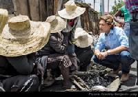 Sigora Solar founder, Andy Bindea, in Haiti