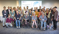 Delegates attending the FSHD International Patient Advocacy Summit.