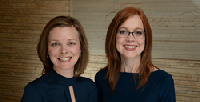 Texas Fertility Specialists Erika Munch, MD, and Susan Hudson, MD