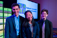 Winners of the 2017 NAfME Student Composers competition discussed their compositions at the NAfME national conference that took place in Dallas, Texas. Photo: Matt Janson.