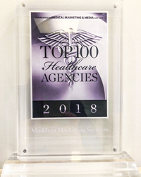 Every year, MM&M awards the Top 100 Healthcare Agencies in North America with its annual award, a recognition of expertise and accomplishment in healthcare marketing.
