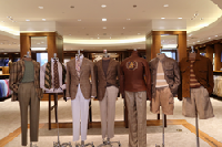 """Summer 2020 Menswear Collection from Phineas Cole :   Paulette Garafalo, CEO of Paul Stuart says, """"At Phineas Cole, we love dressing for the weekend and have the perfect wardrobe for it. The new Sahara collection offers head to toe style for the beach or the boat; our new styles will make sure our customer arrives perfectly attired."""