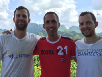 Business leaders building relationships in Cuba with Bright Light Volunteers International.