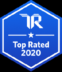 TrustRadius 2020 Top Rated Badge