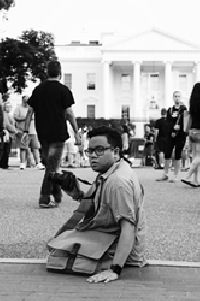 Joseph Fortuno at the White House