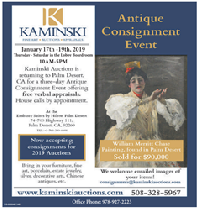 Free Antique Appraisal Event, Palm Desert, California