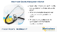 Quality Management In Healthcare Market - 2023