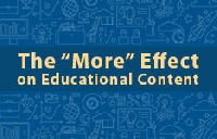 The More Effect on Educational Content webinar by Omnpress