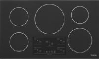 THOR Kitchen's new 36-inch Induction Cooktop in the Elite Series features clear glass with a gray undertone, along with higher power output and digital LED displays.