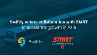 Swiftly announces collaboration with SMRT to accelerate expansion into Asia | 