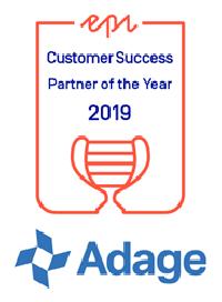 Adage Named Episerver Customer Success Partner of the Year