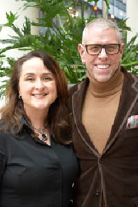 Diana Haven and Andrew Freeman of af&co.