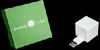 The Shred Cube: The World's First USB Plug-and-Play Permanent File Eraser