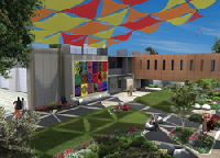 The History of the Star of David will become the focal point of the healing garden located in the new Legacy Heritage Oncology Center and the Dr. Larry Norton Institute at Soroka Medical Center.