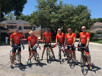 Members of 2017 Team FSHD Cycling will be racing again this year.
