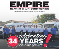 Empire Heating and Air Conditioning celebrates its 34th Anniversary
