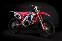 Factory Effex transforms your stock looking bike to a real top pro-looking bike.