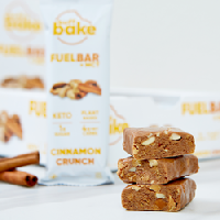 Buff Bake's Cinnamon Crunch Keto FuelBar + MCT