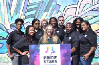 Pride Stars connects people from around the world, spotlighting great talent with an inclusive spirit.