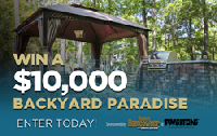 Win a ,000 Backyard Paradise makeover from Today's Homeowner Media & Pavestone!
