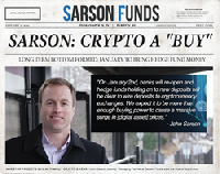 Sarson Funds Managing Partner John Sarson: Institutional capital to start Bitcoin's January rally