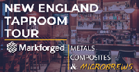 Join us to experience Markforged 3D Printing in metals and composites, while enjoying complimentary beverages!
