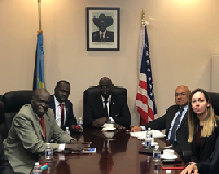 A delegation from the Republic of South Sudan's government, headed by the Minister of Mining, Hon. Gabriel Thokuj Deng, met with the executives of three corporations from Canada and the United States