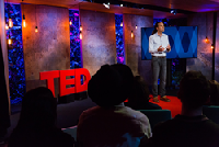 UCSB Associate Professor Matt Beane Speaking at TED Salon