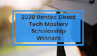 Property management software company, Rentec Direct, announces the recipients of the 2020 Rentec Direct Tech Mastery Scholarship.