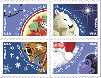 Celebrate the upcoming holiday season at the USPS First-Day-of-Issue Ceremony, October 5 at Noon.