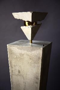Sculpture of the italian artist Cesare Catania entitled