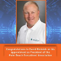 Congratulations to David Blotnick, the newly appointed President of the Palm Beach Executives' Association. 
