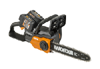 Able to cut tree trunks up to 20 in. diameter, the chainsaw is ideal for tree trimming, pruning, stockpiling of firewood and thinning dense shrubbery.