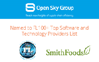 Open Sky Group named to FL100+ list for their work with clients such as SmithFoods.