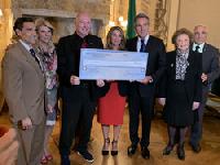 2019 Savoy Foundation Check Presentation to Caterina's Club June 11, 2019