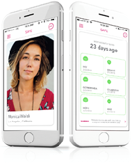"The SAFE App - ""Our goal is to empower young people to respect and protect their sexual health. We created a tool to have the conversation about sexual health between partners, while also providing access to easy and affordable testing...our mission is to end the spread and stigma of STDs in our lifetime."
