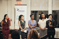 Ellevate speakers at September's Women of Color Story Slam in New York