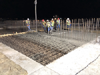 Replacing the WWTP in T or C: PENETRON ADMIX-treated concrete replaced the damaged headworks, grit chamber, aeration oxidation oval, two clarifiers, and disinfection system at the New México plant.
