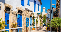 Limassol in Cyprus is just one port visited on Cruising Three Continents.