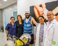Iqbal & Kim and Baby Gursaz with LIV Fertility Center Staff