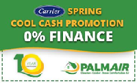 Spring Cool Cash Promotion