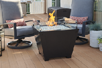 Axel Square Gas Fire Pit Table by The Outdoor GreatRoom Company